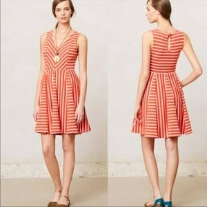 Anthropologie Saturday Sunday Striped Day Dress L